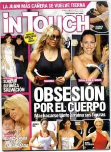 IN TOUCH - MAGAZINE SPAIN (APRIL 2008)