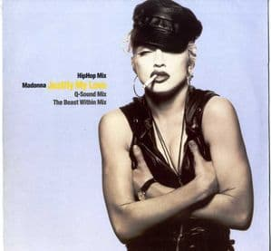 JUSTIFY MY LOVE (HIP HOP MIX) - GERMANY 12