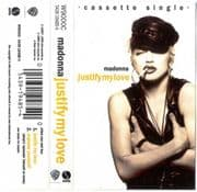 JUSTIFY MY LOVE - UK CASSETTE (W9000C)