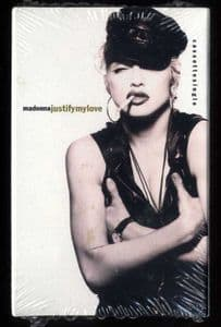 JUSTIFY MY LOVE - USA CASSETTE (4-19485) SEALED