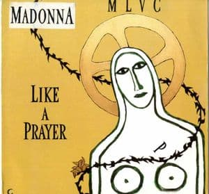LIKE A PRAYER (CHURCHAPELLA) - GERMANY / EU 12