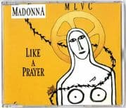 LIKE A PRAYER (Yellow) - UK / GERMANY CD SINGLE