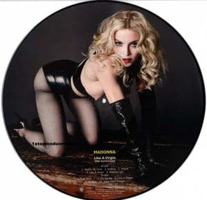 LIKE A VIRGIN - 30th ANNIVERSARY LP PICTURE DISC