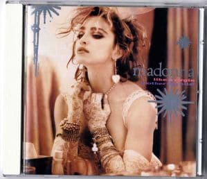 LIKE A VIRGIN & OTHER BIG HITS - JAPAN CD (WPCP-3437)