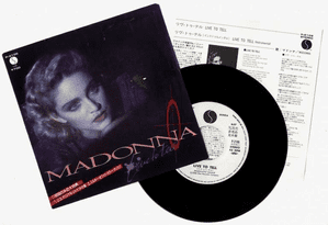LIVE TO TELL - JAPAN WHITE LABEL PROMO 7