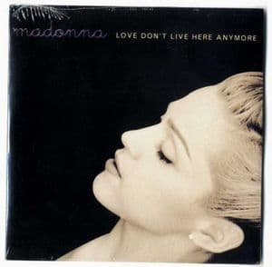 LOVE DON'T LIVE HERE ANYMORE - EUROPE CARD SLEEVE CD