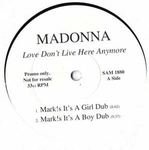 LOVE DON'T LIVE HERE ANYMORE- UK PROMO 12