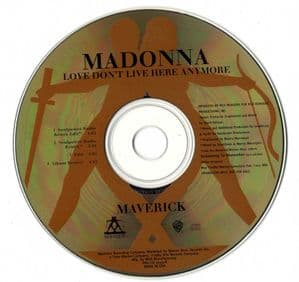 LOVE DON'T LIVE HERE ANYMORE - USA 4 TRACK PROMO CD