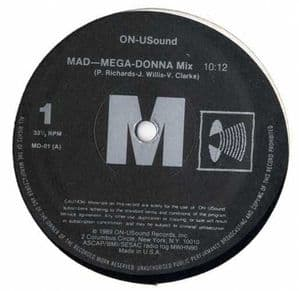 MAD-MEGA-DONNA MIX (ON-USOUND REMIX) - USA 12