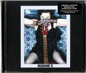 MADAME X - EU  DELUXE 2-CD ALBUM (18 Tracks)