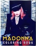 MADONNA COLORING BOOK - UK 2020 PICTURE BOOK