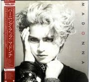 MADONNA (SELF TITLED)- JAPAN VINYL LP (P-11394)
