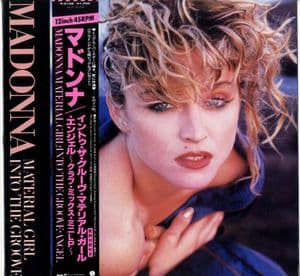 MATERIAL GIRL / INTO THE GROOVE - JAPAN 12