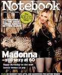 NOTEBOOK - UK  1-DAY ONLY MAGAZINE (AUGUST 2018)