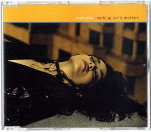 NOTHING REALLY MATTERS - UK CD SINGLE (W471CD2)