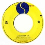 """OH FATHER - UK PROMO 7"""" VINYL W0326LC"""