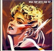 OPEN YOUR HEART (WEA TOP HITS FEB 87) - JAPAN PROMO ONLY LP