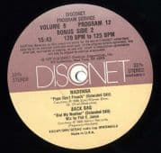 "PAPA DON'T PREACH - DISCONET USA DJ PROMO 12"" VINYL"