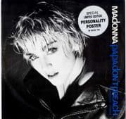 """PAPA DON'T PREACH - UK LIMITED EDITION 12"""" + POSTER"""