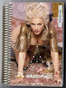 Re-invention Tour Rare 2004 Crew Only Tour Itinerary | 1 Stop Madonna Shop