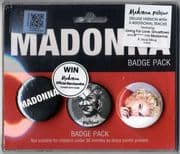 REBEL HEART - MALAYSIA (DELUXE EDITION) CD ALBUM + Badge Pack