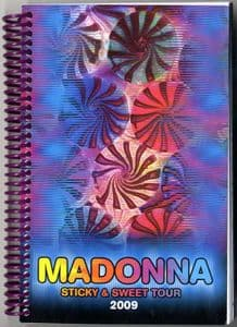 STICKY & SWEET TOUR   - RARE 2009 CREW ONLY ITINERARY