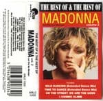 THE BEST OF THE REST OF MADONNA - VOL. #2  UK CASSETTE