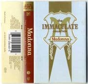 THE IMMACULATE COLLECTION - UK / EU CASSETTE ALBUM