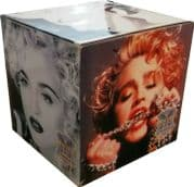 """THE IMMACULATE COLLECTION - UK PROMO ONLY 12"""" DISPLAY CUBE"""