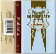 THE IMMACULATE COLLECTION - USA CASSETTE ALBUM