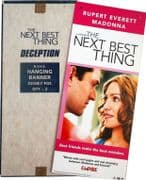 THE NEXT BEST THING - UK PROMO ONLY HANGING DISPLAY BANNER