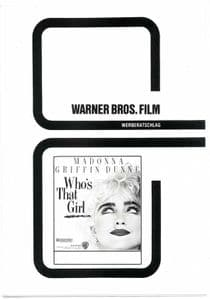 WHO''S THAT GIRL - GERMANY PROMO CINEMA CAMPAIGN BOOK