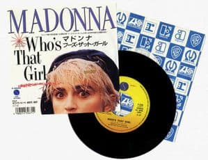 WHO'S THAT GIRL - JAPAN 7