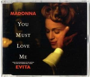 YOU MUST LOVE ME - UK CD  (W0378CD)