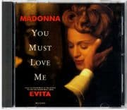 YOU MUST LOVE ME - USA 1 TRACK PROMO CD