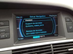 Latest 2018 Sat Nav Disc Update for Audi MMI 2G HIGH