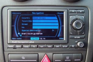 Latest 2020 Sat Nav disc update For Audi RNS-E