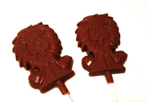 Chocolate Lion Lolly 🦁