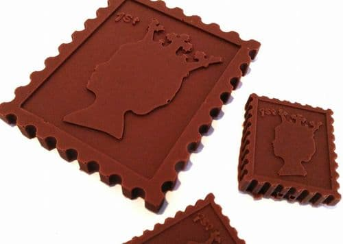 Chocolate Postage Stamp