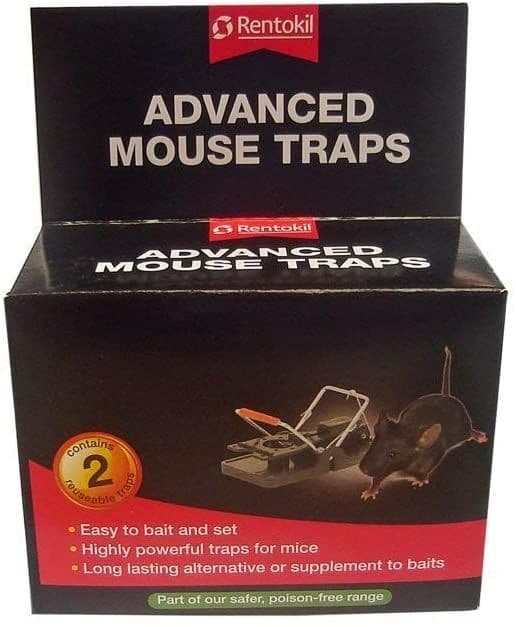 2 Pack Mouse Traps