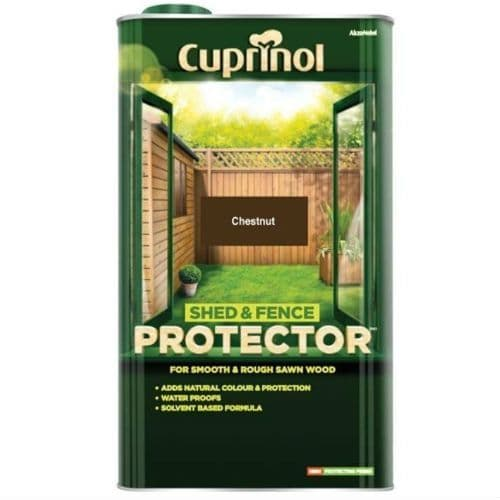 Cuprinol Shed and Fence Protector Chestnut 5L