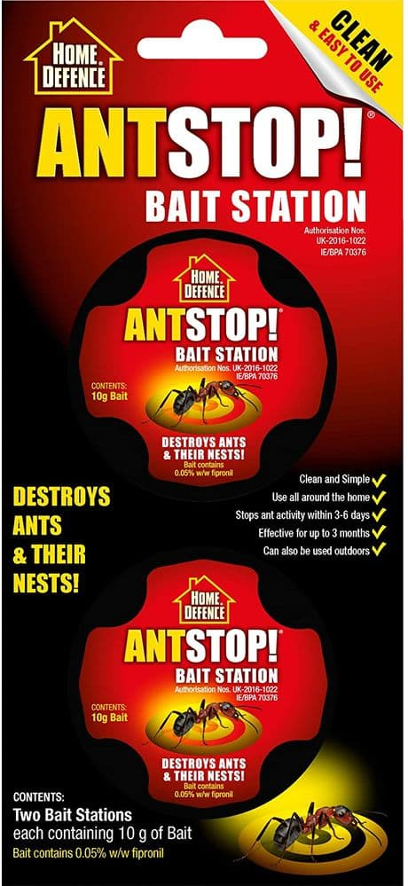 Home Defence Ant Stop! Bait Station (Pack of 2)