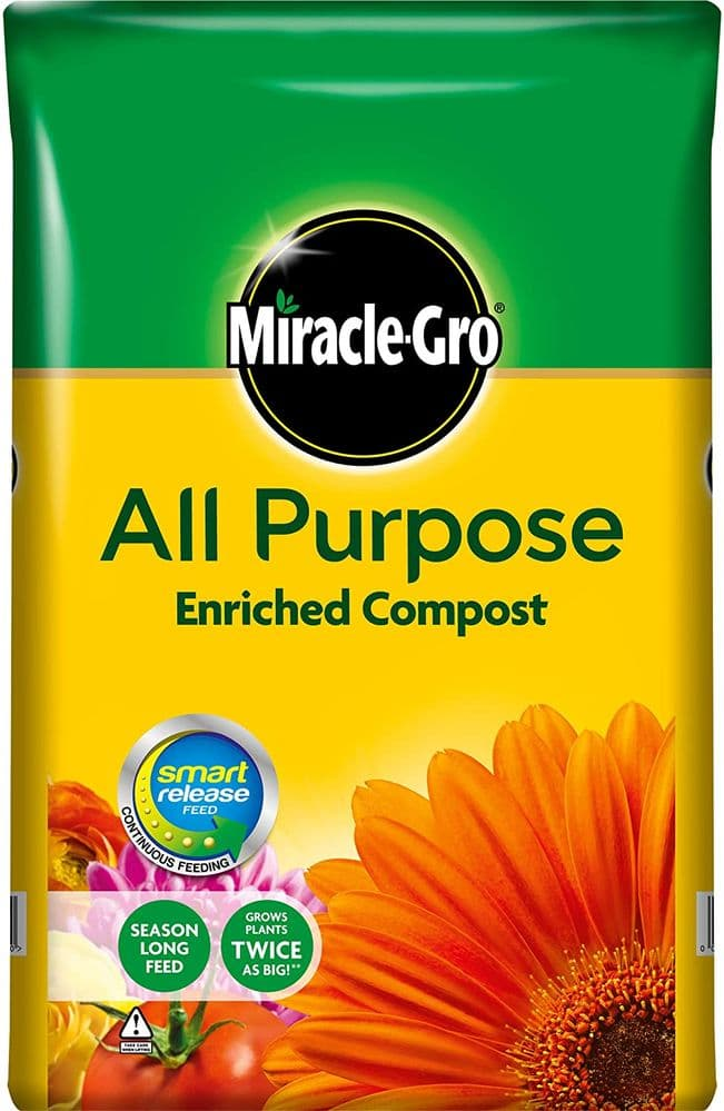 Miracle-Gro 19005 All Purpose Enriched Compost 50L
