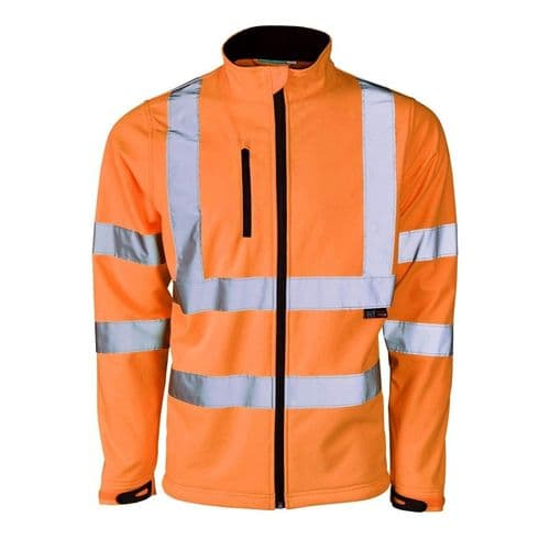 Essentials Hi Vis Softshell