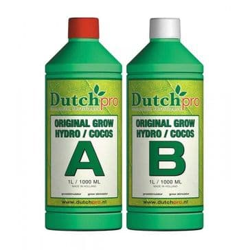 Dutch Pro Original Hydro/Coco Grow A+B