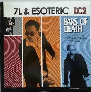 7L and Esoteric DC2 BARS OF DEATH Double Vinyl LP