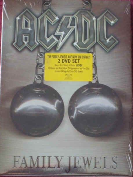 AC/DC FAMILY JEWELS Unplayed DVD