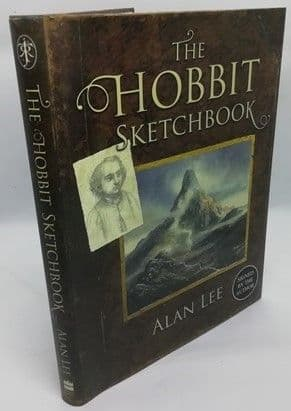 Alan Lee THE HOBBIT SKETCHBOOK First Edition Signed