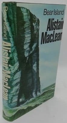 Alistair MacLean BEAR ISLAND First Edition