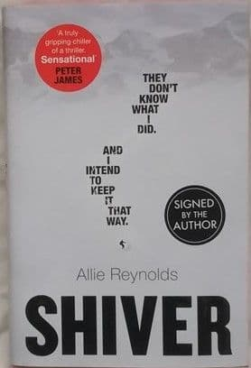 Allie Reynolds SHIVER First Edition Signed